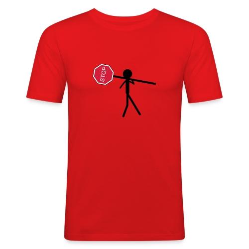 STOP 2 - T-shirt près du corps Homme