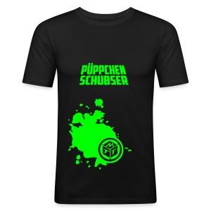 Püppchen Schubser | Slim fit - Männer Slim Fit T-Shirt