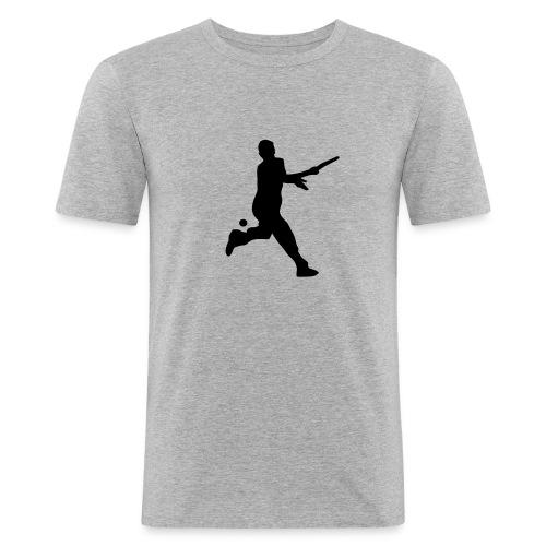Tennis Silouhette T-shirt (flex1c) - T-shirt près du corps Homme