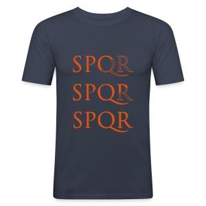 Camiseta Slim Fit SPQR - Camiseta ajustada hombre