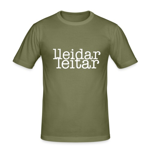 lleidar leitar - Men's Slim Fit T-Shirt
