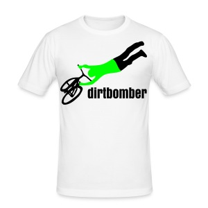 dirtbomber superseater withe - Männer Slim Fit T-Shirt