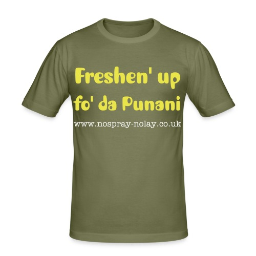 Freshen' up - Men's Slim Fit T-Shirt