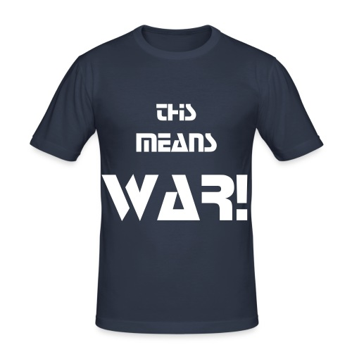 Future Warrior 2 - Männer Slim Fit T-Shirt