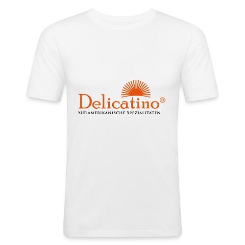 "Shirt ""Delicatino"" weiß - Männer Slim Fit T-Shirt"