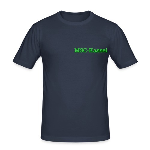 MSC-Kassel T-Shirt - Männer Slim Fit T-Shirt