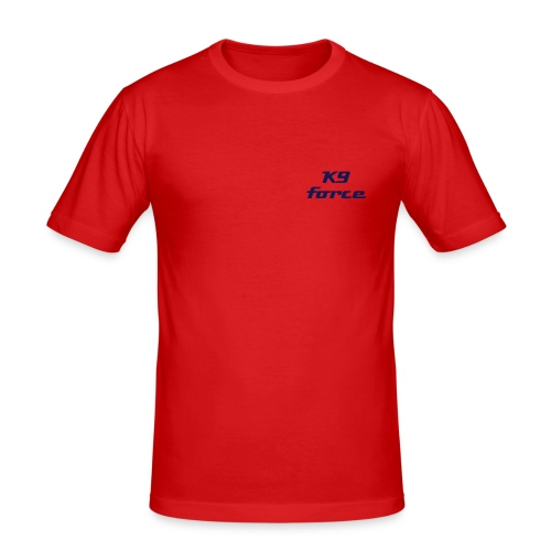 t-shirt k9 force Dutch KNPV (limited)full contact bite/serve - T-shirt près du corps Homme