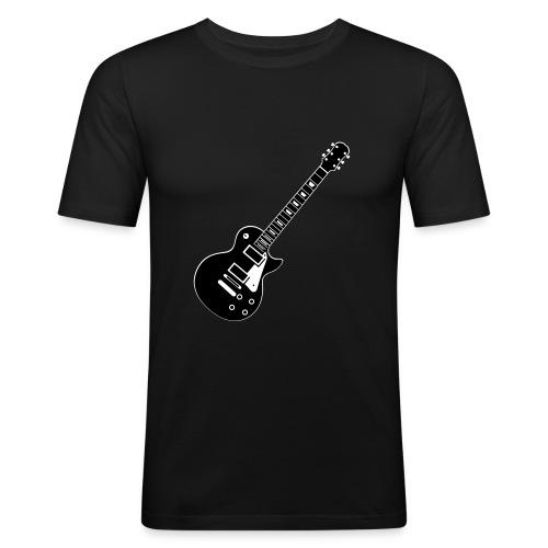 Gitarre Les Paul - Männer Slim Fit T-Shirt