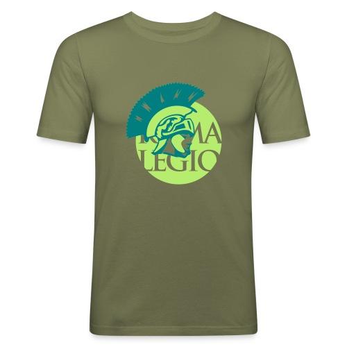Hombre camiseta Ajustada Roman Legio - Camiseta ajustada hombre