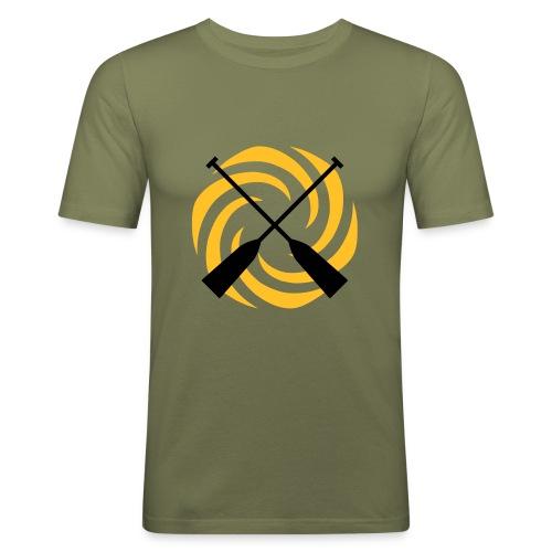 Turbine Paddel - Männer Slim Fit T-Shirt