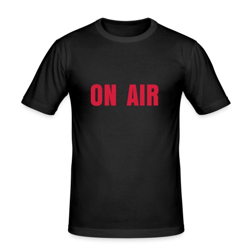 ON AIR BOY BLACK - T-shirt près du corps Homme