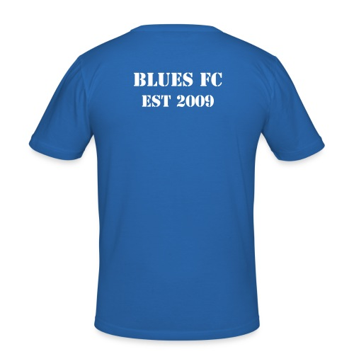 Blues FC Muscle-Shirt Meister 2010/11 - Männer Slim Fit T-Shirt