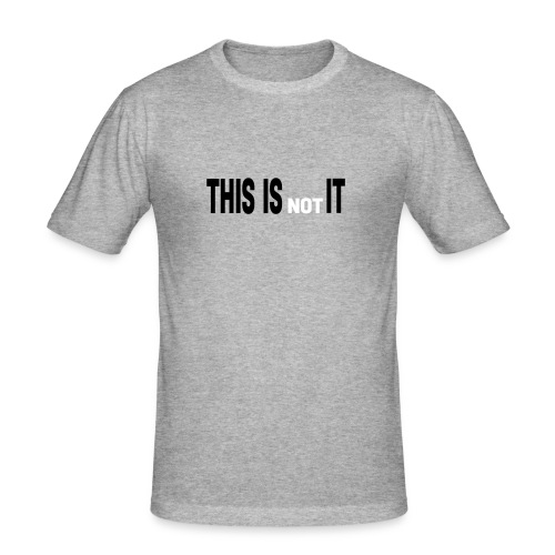 THIS IS NOT IT - T-shirt près du corps Homme