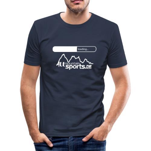 T-Shirt ALLmountainSPORTS.de LOADING - Männer Slim Fit T-Shirt