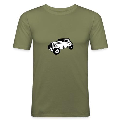 Hot Rod Oldtimer 1 - Flexdruck - Männer Slim Fit T-Shirt