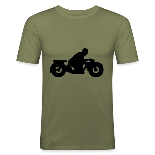 Motorrad Schweiz - Männer Slim Fit T-Shirt