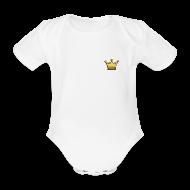 Baby Bodys ~ Baby Kurzarm-Body ~ Body für Könige & Prinzessinnen