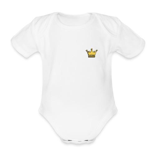 Body für Könige & Prinzessinnen - Baby Bio-Kurzarm-Body