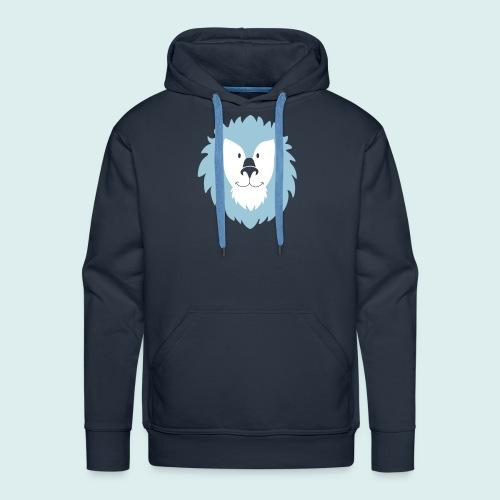 leeuw - Mannen Premium hoodie