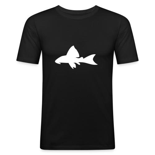 L-malle - velg farge! - Slim Fit T-skjorte for menn
