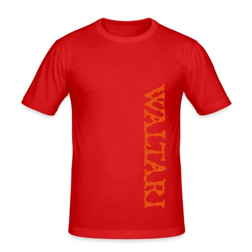 Waltari-Logo - Men's Slim Fit T-Shirt