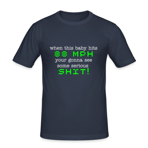 Back to the Future - Men's Slim Fit T-Shirt