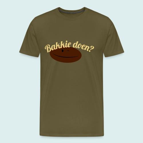 bakkiedoen - Mannen Premium T-shirt