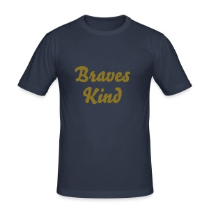 braves Kind, Männer - Männer Slim Fit T-Shirt