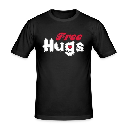Free Hugs - Men's Slim Fit T-Shirt