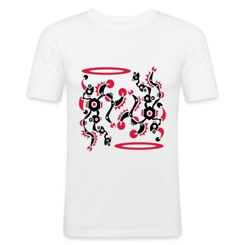 Tattoo Style Art Design - Männer Slim Fit T-Shirt