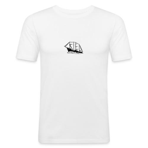 """Kiel-Schiff """"Maat"""" - Männer Slim Fit T-Shirt"""