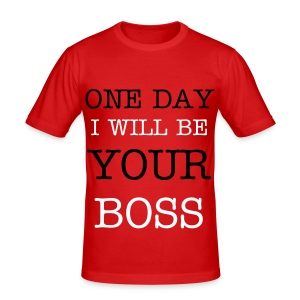One Day - Men's Slim Fit T-Shirt