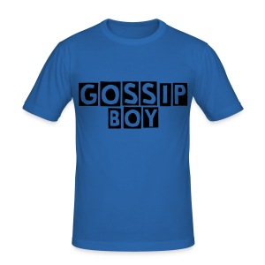 """Gossip Boy"" T - Männer Slim Fit T-Shirt"