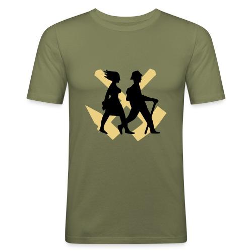 Wandern Ruhrgebiet - Männer Slim Fit T-Shirt