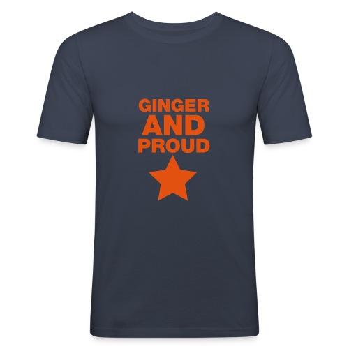 Ginger And Proud Star - Men's Slim Fit T-Shirt