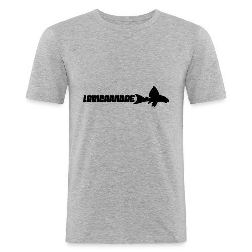 Loricariidae - Slim Fit T-skjorte for menn