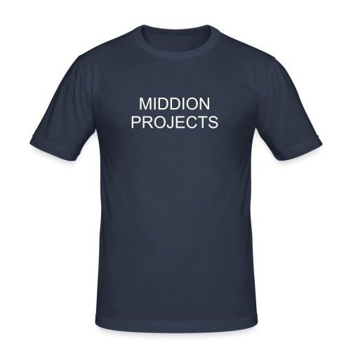 MIDDION PROJECTS - Camiseta ajustada hombre