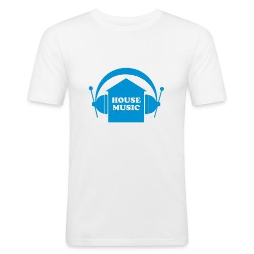 House music - Männer Slim Fit T-Shirt