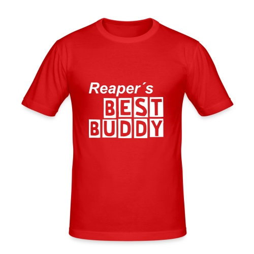 Reaper´s BEST BUDDY - Männer Slim Fit T-Shirt