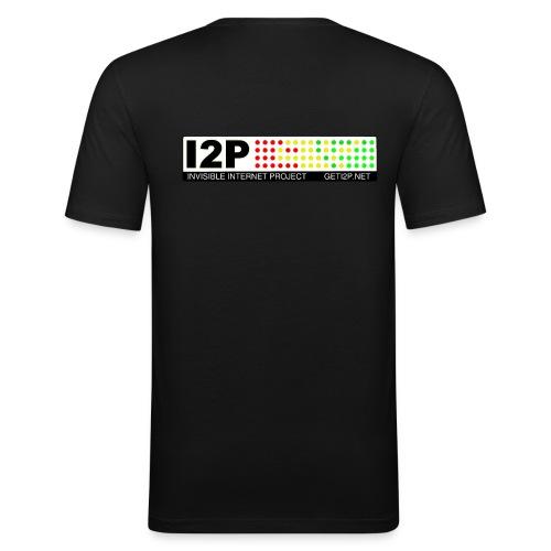 Official I2P T-Shirt - Men's Slim Fit T-Shirt