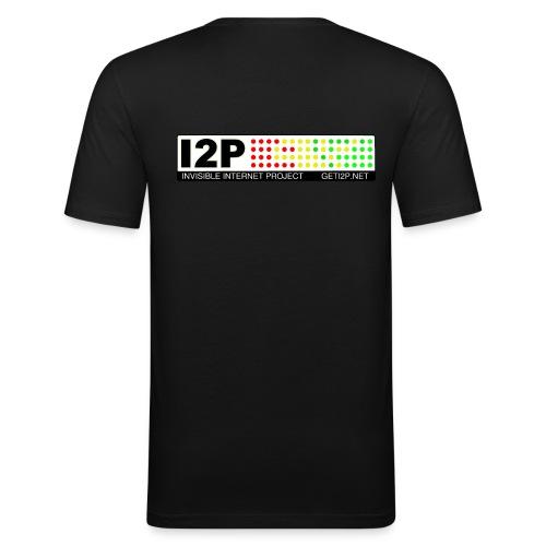 +Donation: Official I2P T-Shirt - Men's Slim Fit T-Shirt
