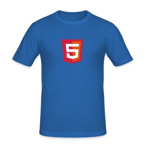 HTML5 coder - slim fit T-shirt