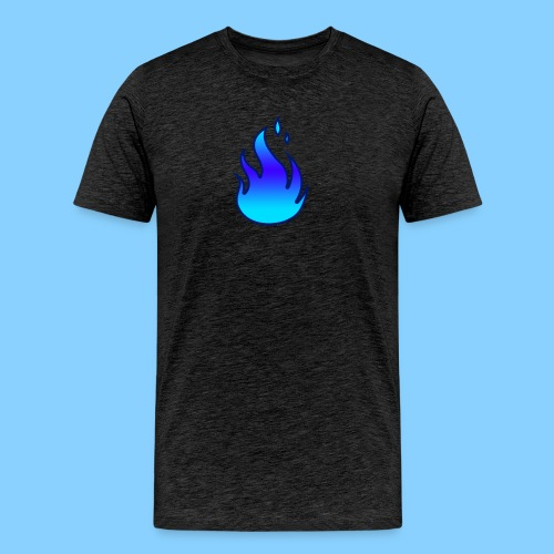 Blue Flame T-Shirt - Men's Premium T-Shirt