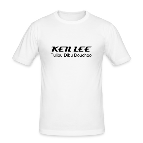 KEN LEE, Tulibu Libu Douchoo - Men's Slim Fit T-Shirt