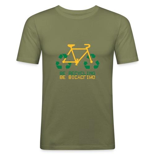 Re-Cycling - T-shirt près du corps Homme