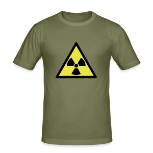 nuclear waste T-Shirts - slim fit T-shirt