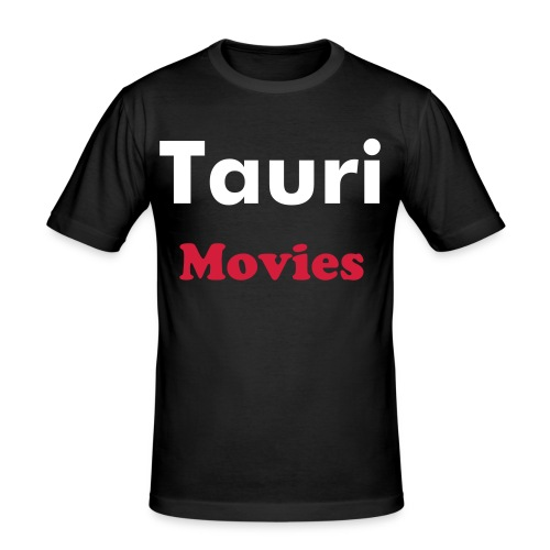 TauriMovies shirt - Men's Slim Fit T-Shirt