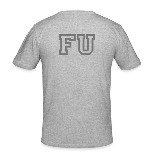 FU - Rygg - Slim Fit T-shirt herr