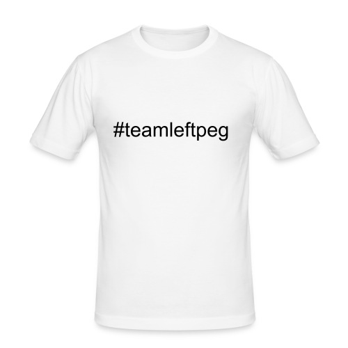 #teamleftpeg Tee - Men's Slim Fit T-Shirt