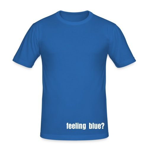 im feeling blue - Men's Slim Fit T-Shirt